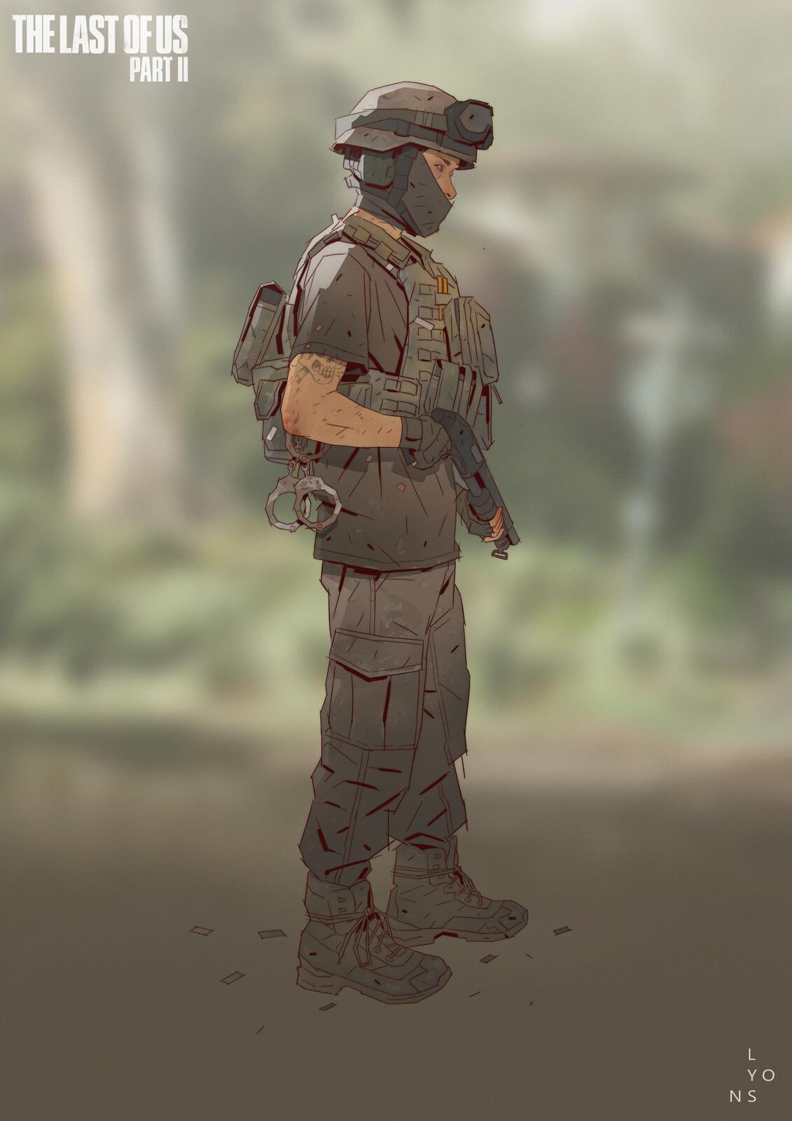 The Last Of Us Part 2 - NPC costume design