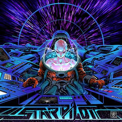 Atom cyber star pilot no text
