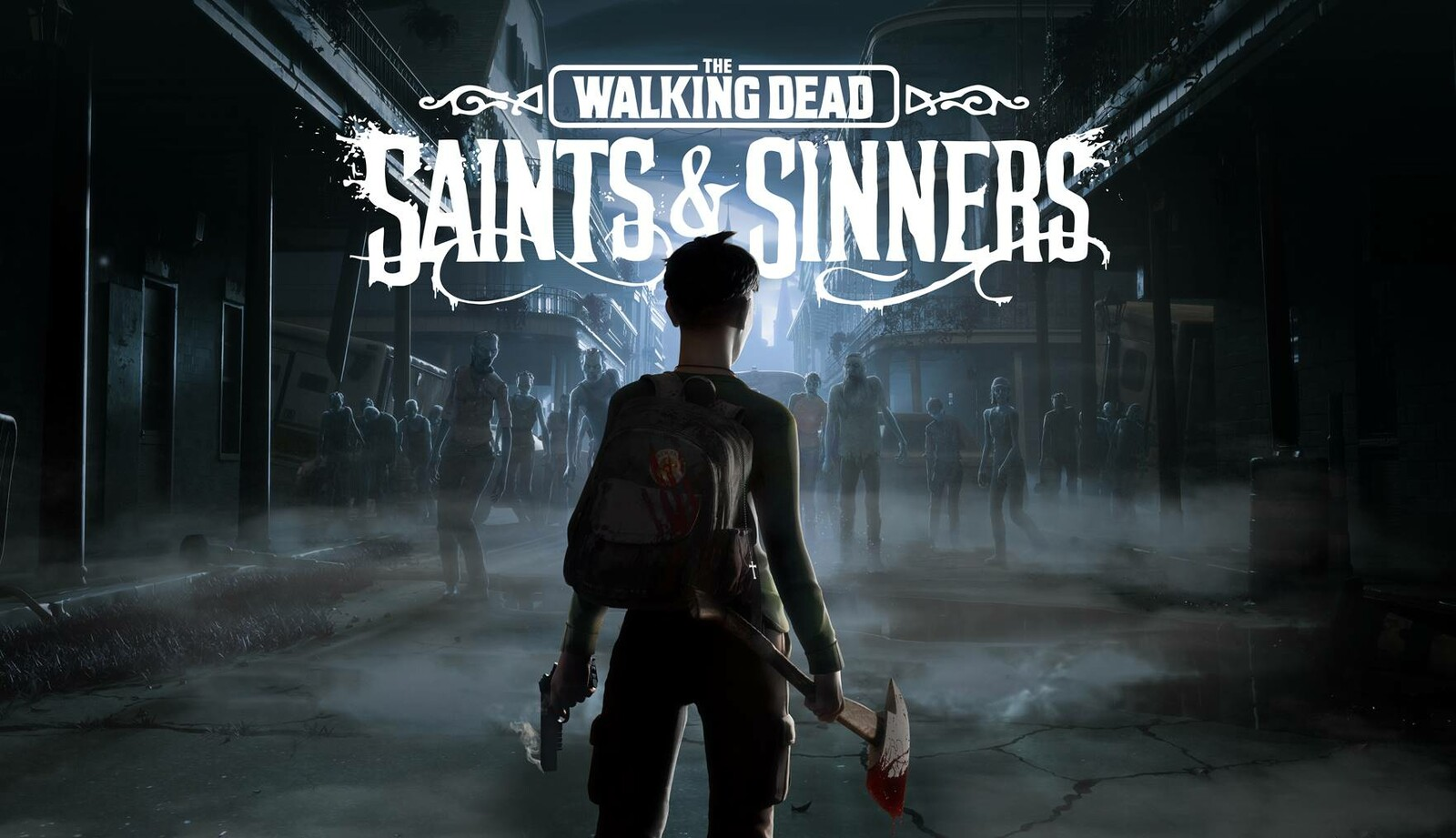 The Walking Dead : Saints & Sinners -Keyart & Coverart