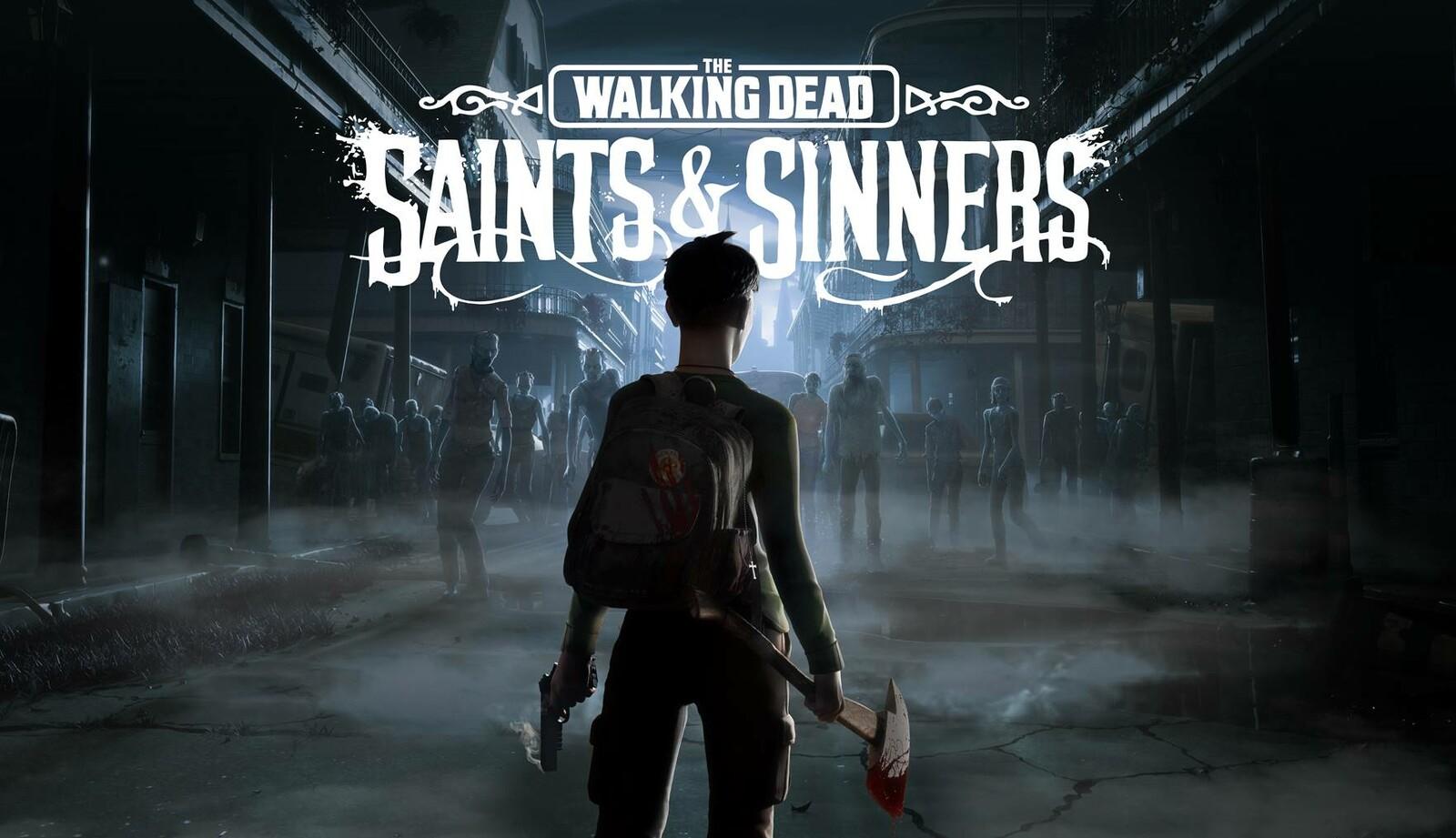 The Walking Dead : Saints & Sinners -Keyart & Coverart