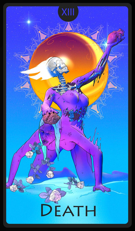 The Death Tarot Card Design