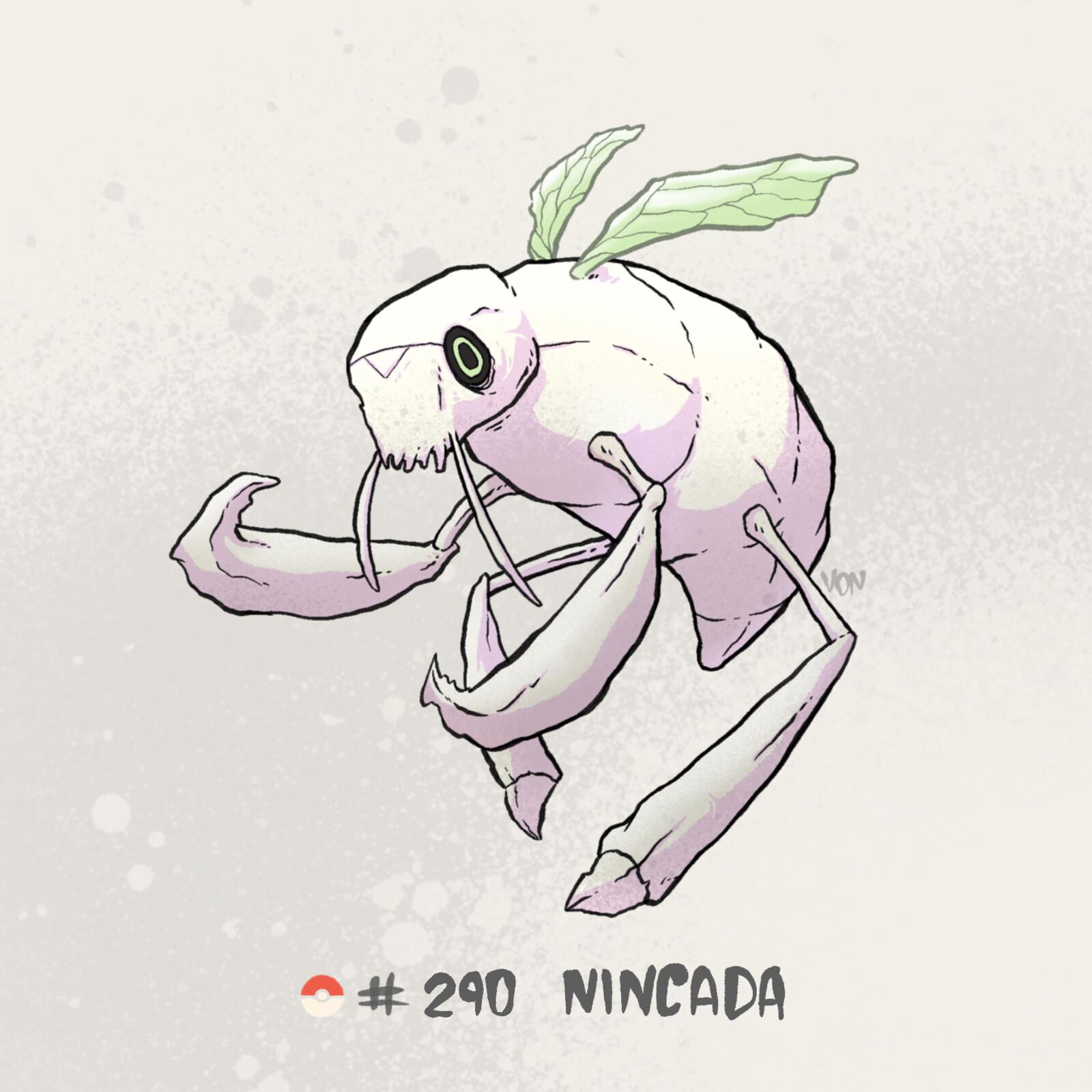 #290 Nincada