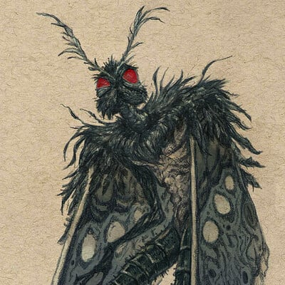James bousema mothman color