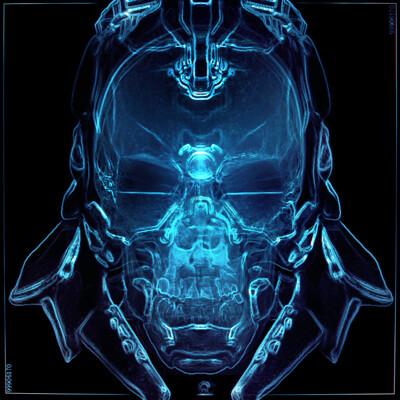 Adam beardall skull comp