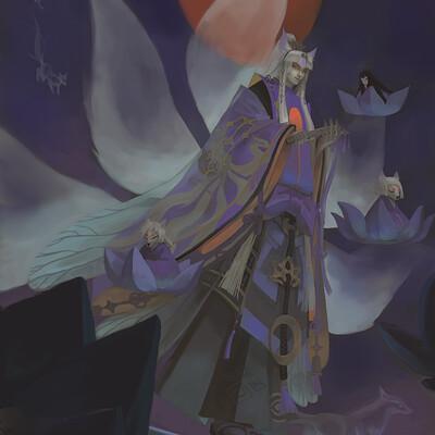 Dark ghost humanoid yys series 06062019 yuzhaoqiannewspecialskinyume14jpg