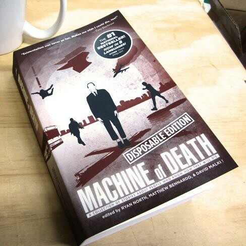Machine of Death: Disposable Edition - Indesign