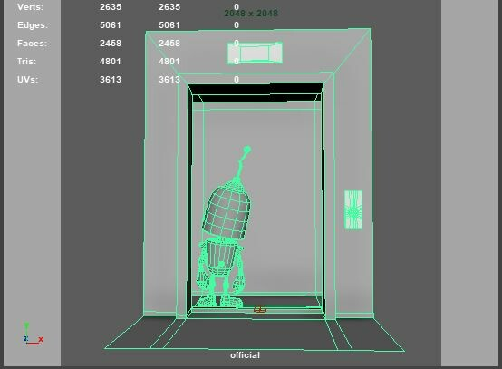 Wireframe and polycount.
