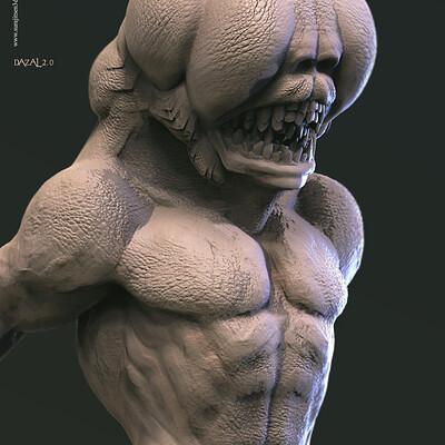 Surajit sen dazal2 0 digital sculpture surajitsen june2020aa