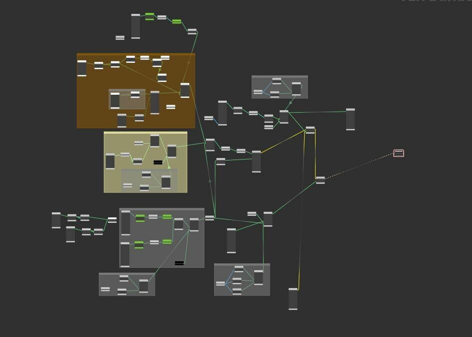Vray shaderBuilder / Brickwall shader