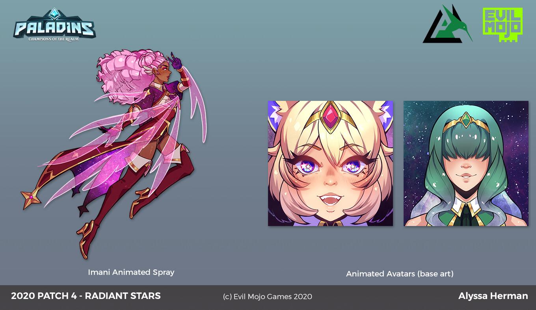 animated assets (still versions)