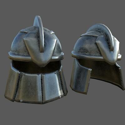 Andrew wilkins kirkwall guard helmets initial texture