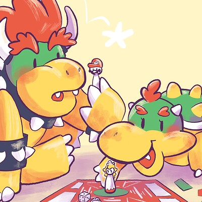 Shugulup sketches cfn father s day bowser