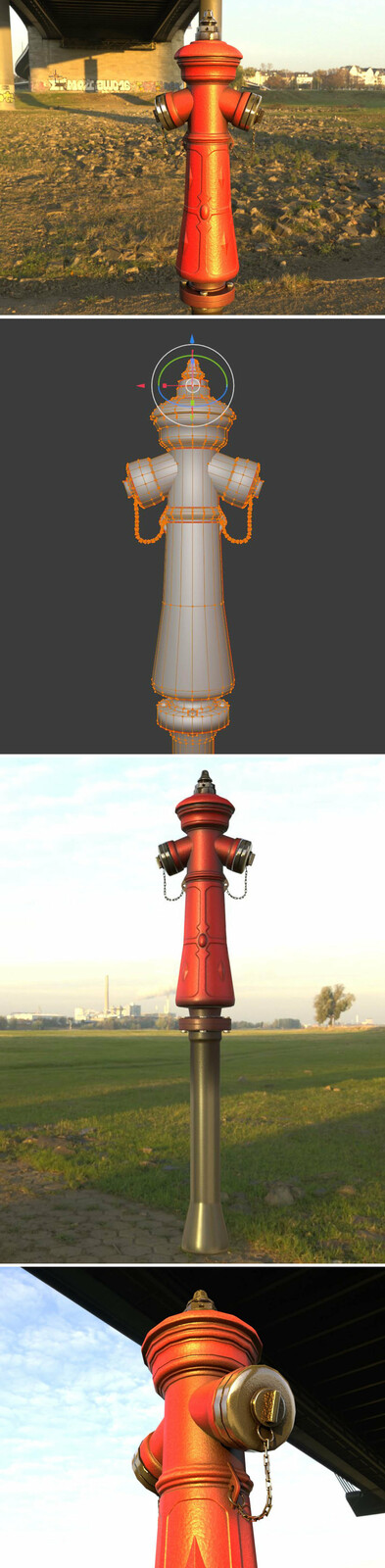The new re-textured Blender-2.831 Version.