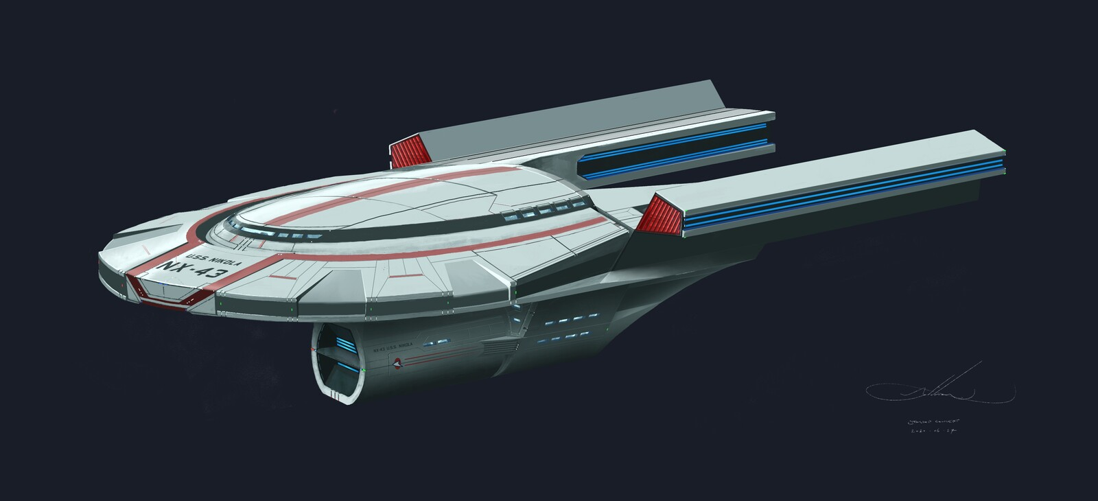 Alternate nacelle configuration