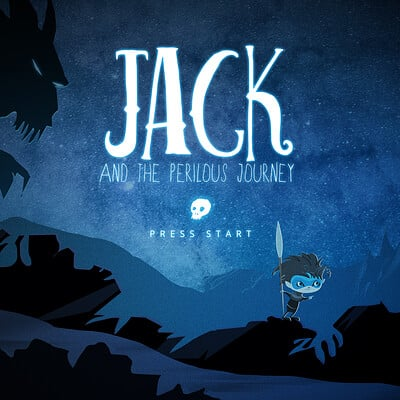 Jack and the Perilous Journey Splash Screen