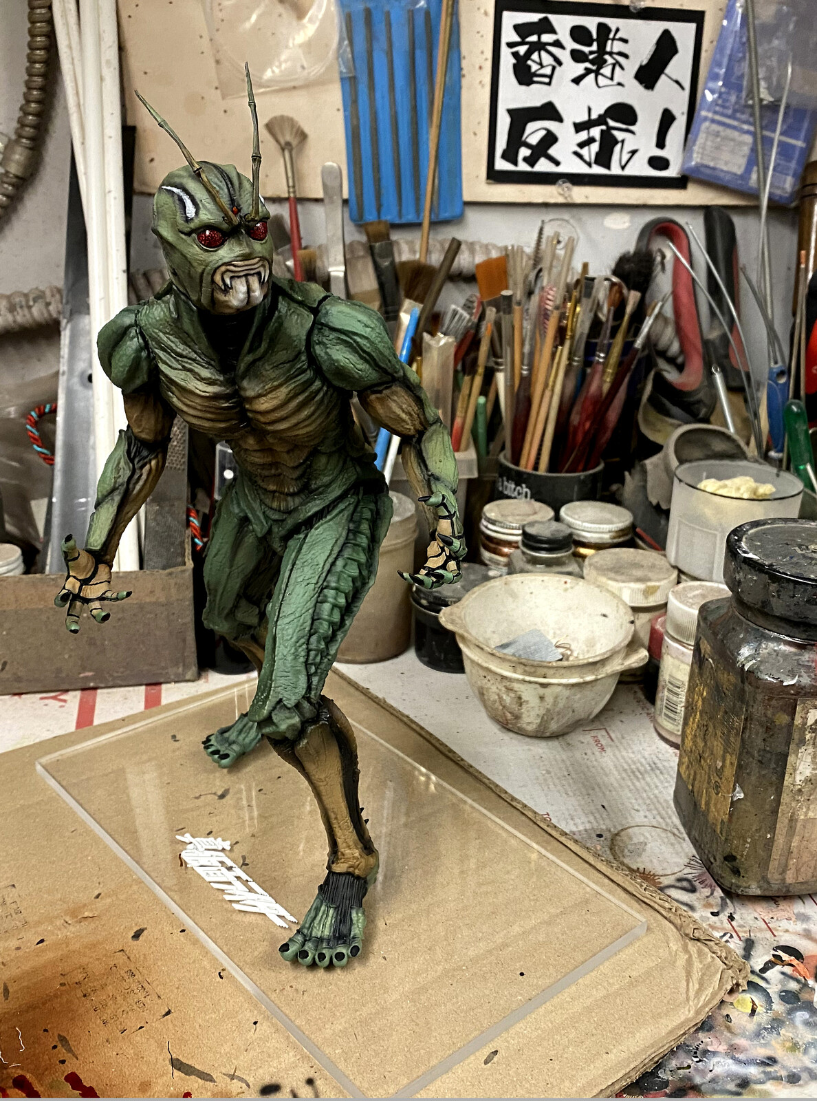 W.I.P. 真・仮面ライダー  Shin Kamen Rider 1:6 scale Art Statue  https://www.solidart.club/
