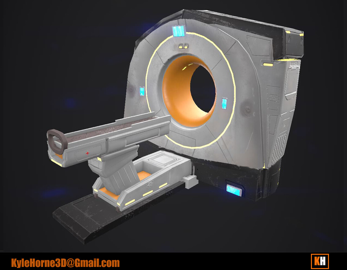 CT Scanner - Game Version