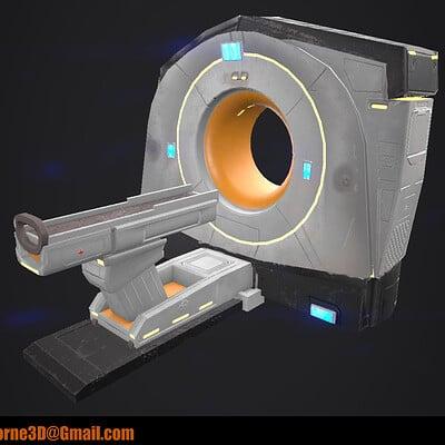 Kyle horne hornekyle ct scanner 3d modeloriginalwork