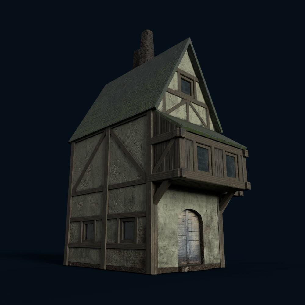 House 4 (model by Thomas De Neef)