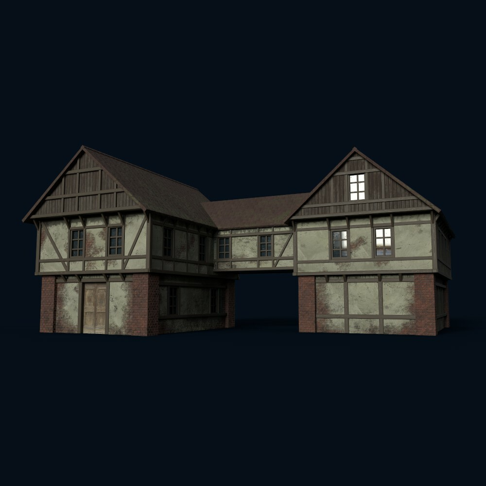 House 6 (model by Thomas De Neef)