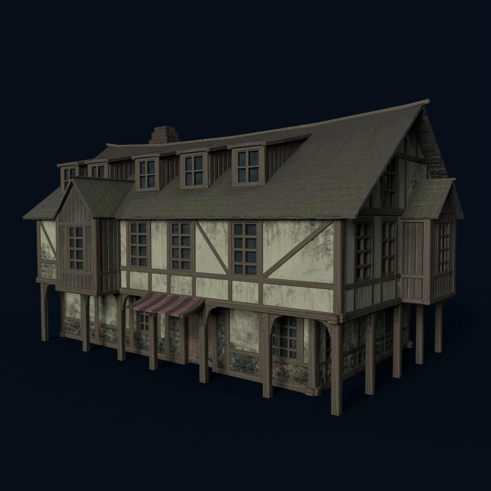 House 7 (model by Thomas De Neef)
