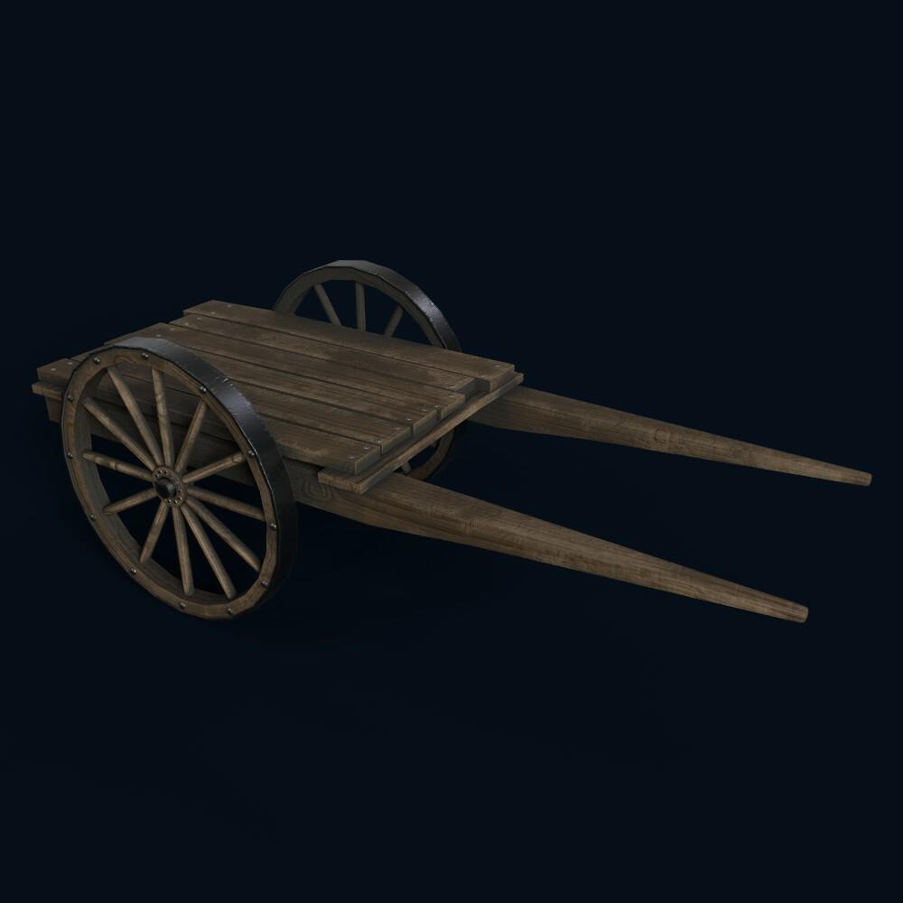 Medieval Cart (own model)
