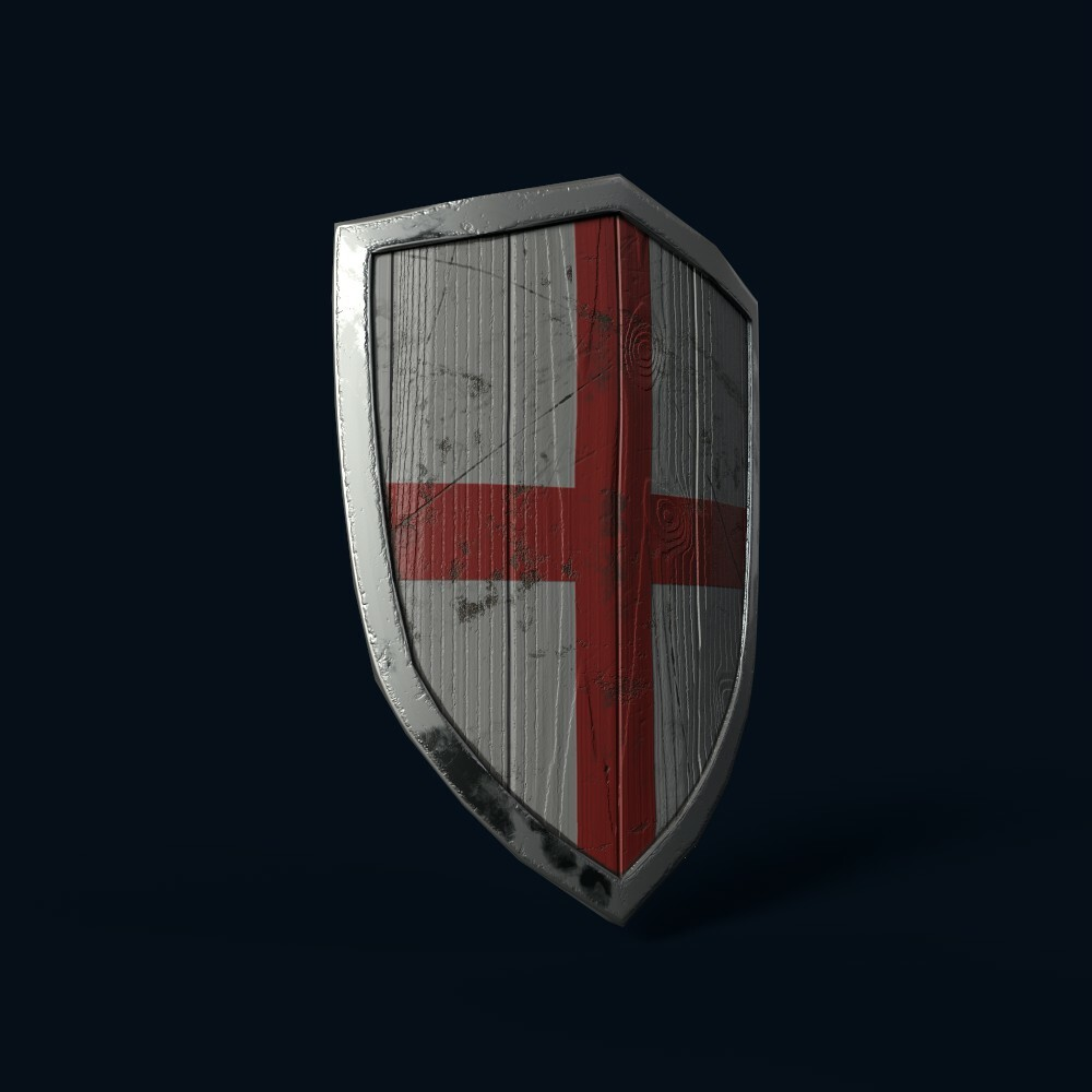 Shield (model by Thomas De Neef)