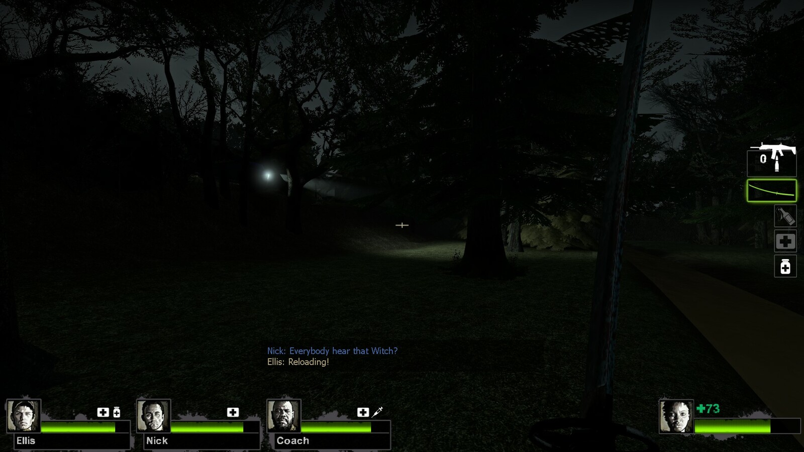 Once players are out of the sewers they will be guided to the safe house with light.