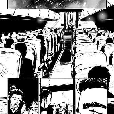 Mario Candelaria's Tales from the Pandemic: Flight 616