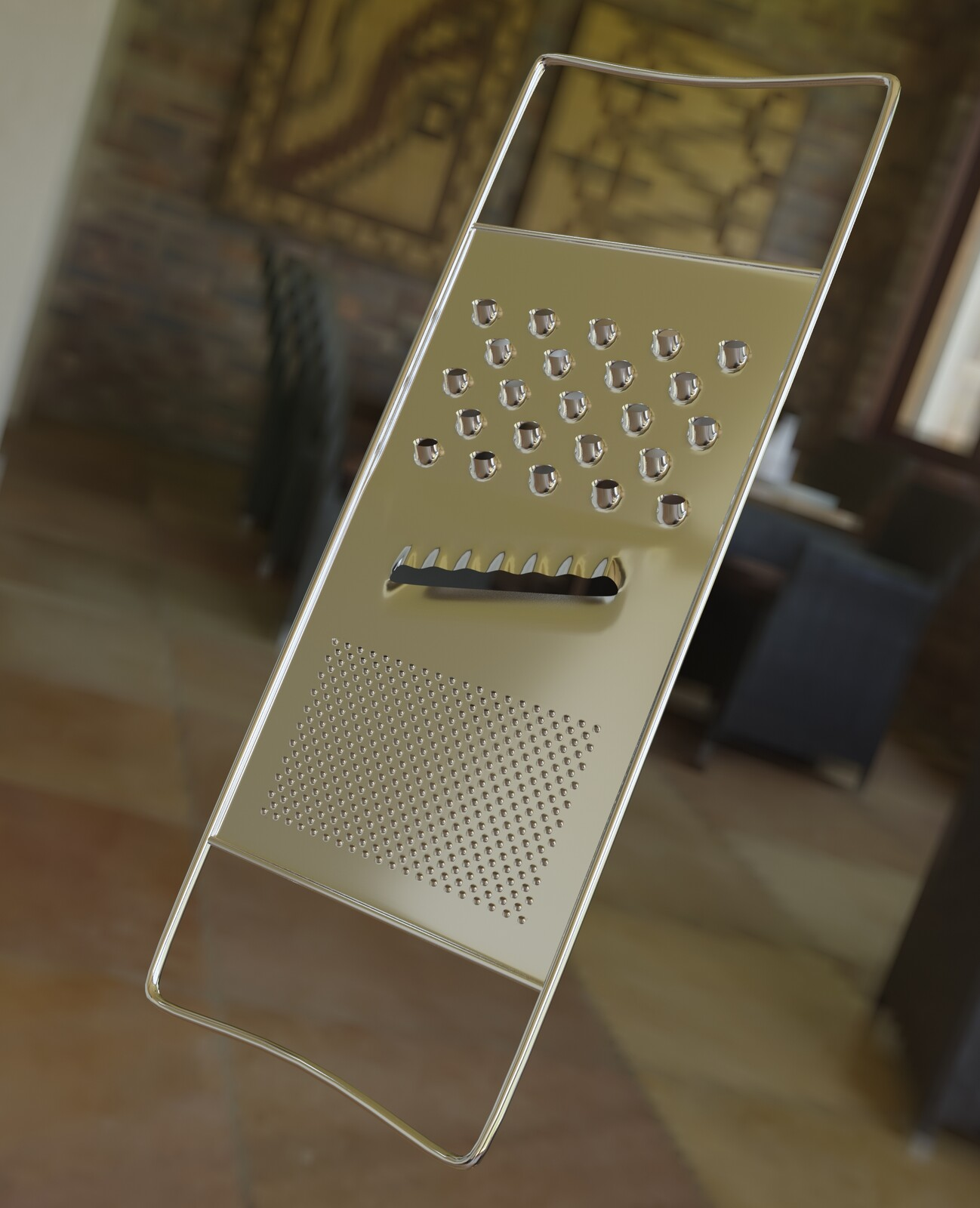 Cheese Grater detail