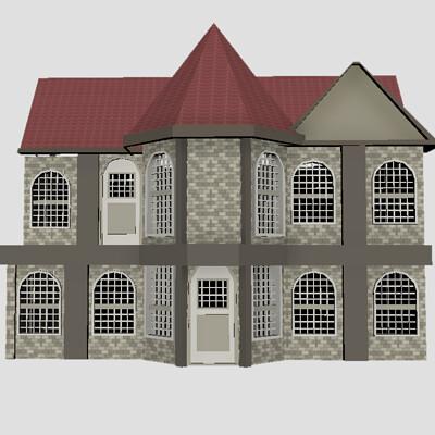 Floor van den bank house 1
