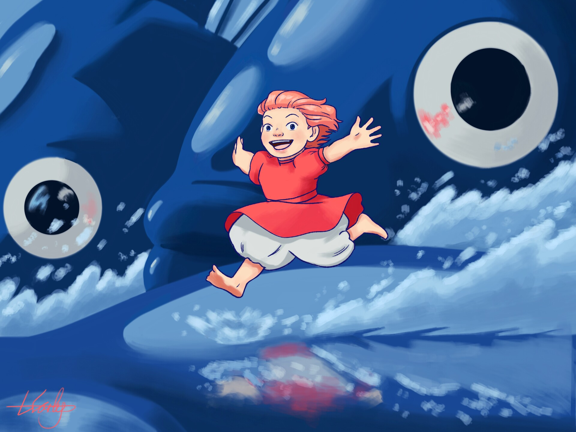 Lucy Early Ponyo