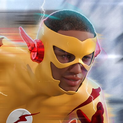 Roger patterson jr kid flash r1 ps