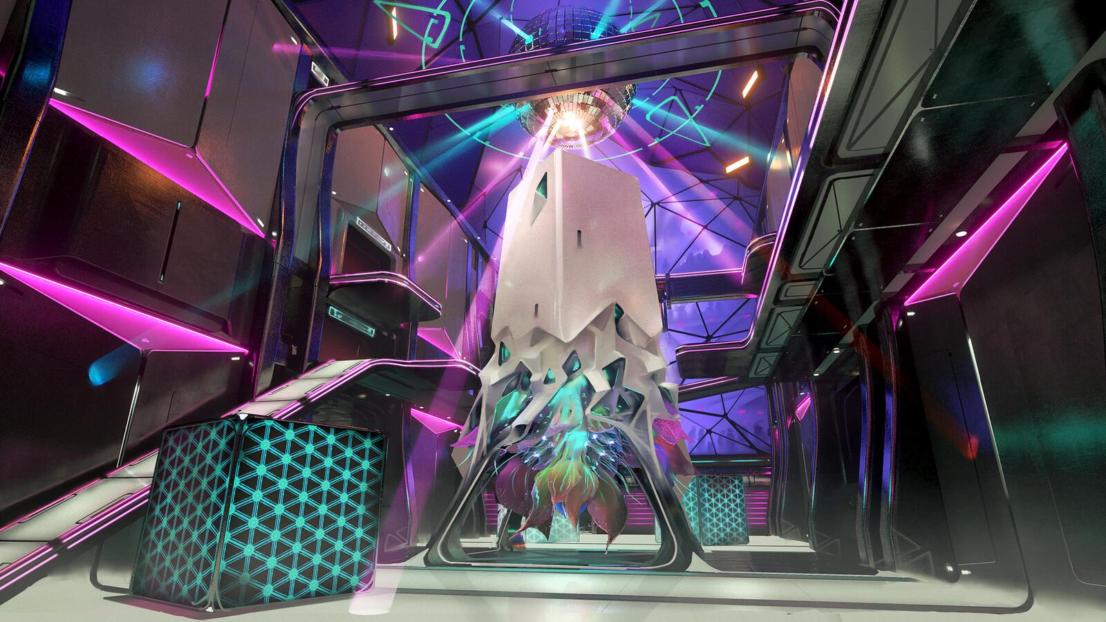 Club Silo Concept: Lobby
