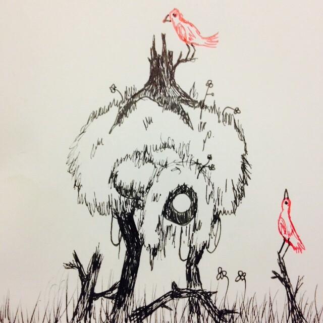 Original Inktober 2016 sketch.