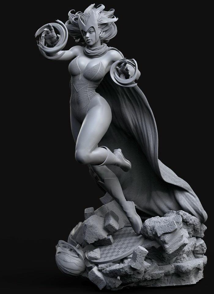 Scarlet Witch : WIP