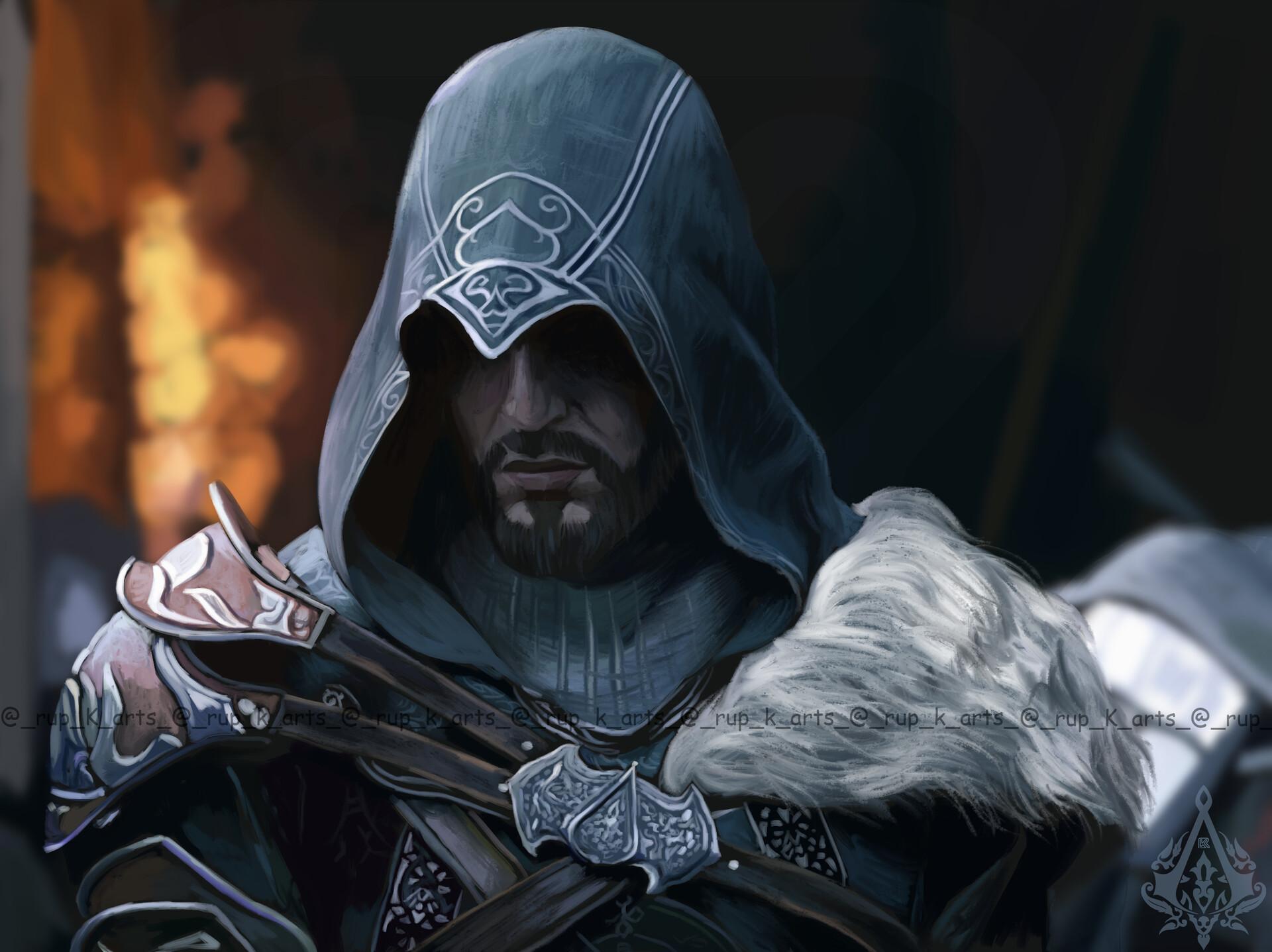 Artstation Ezio Auditore Assassins Creed Revelations Rup K Arts