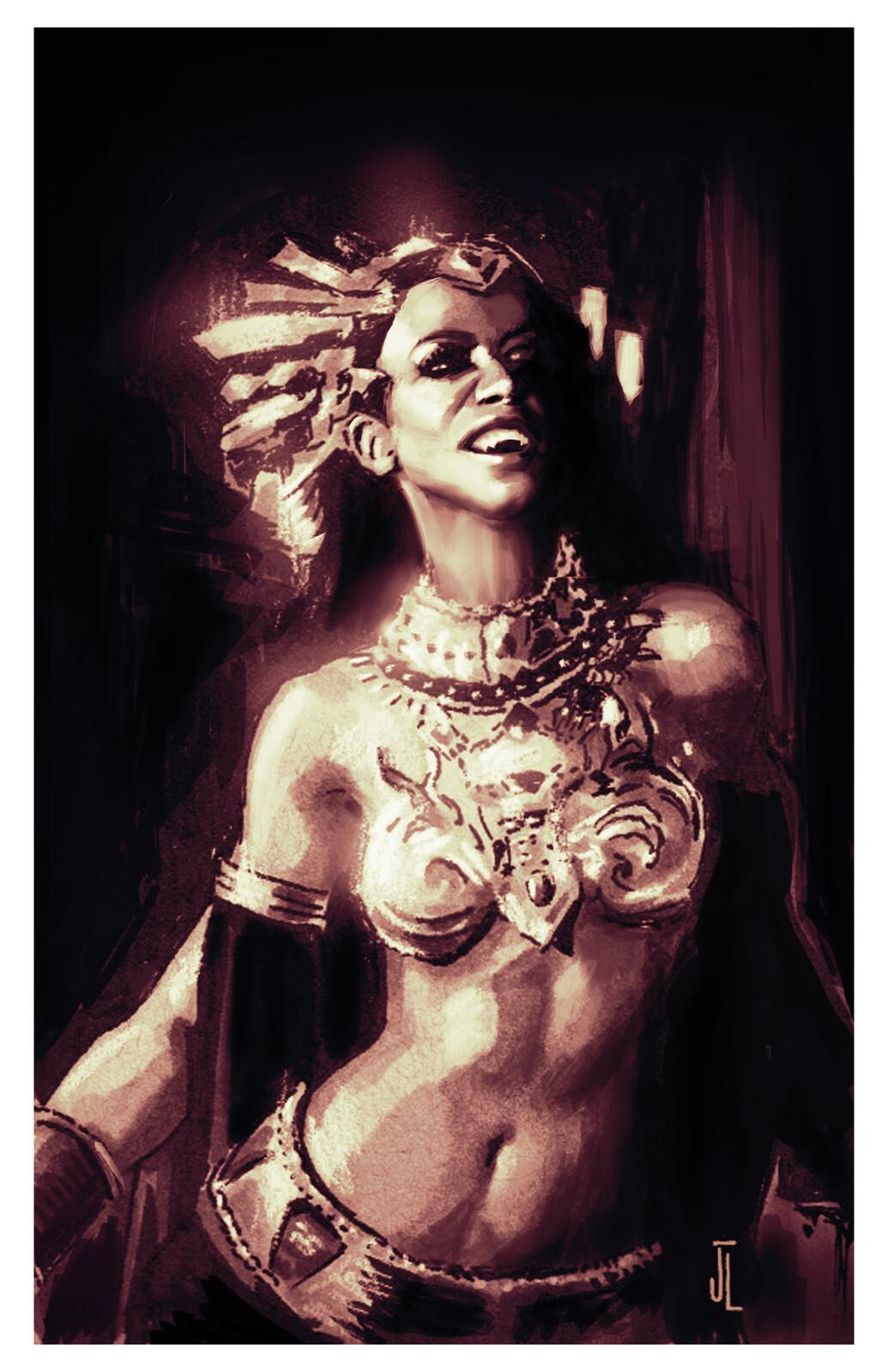 Aaliyah as Akasha
