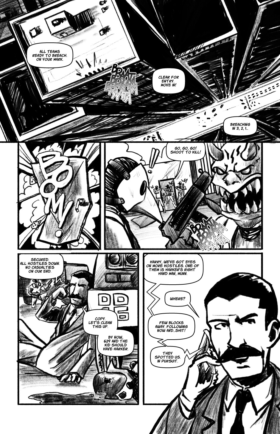 Munn's Last Stand Page 1