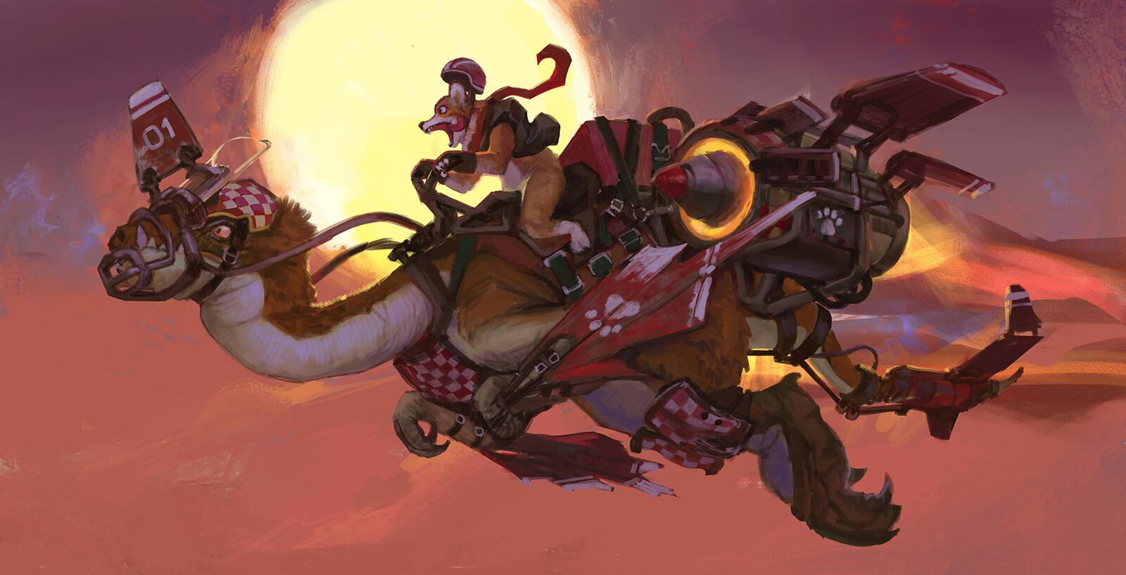 CDC - Dino racer