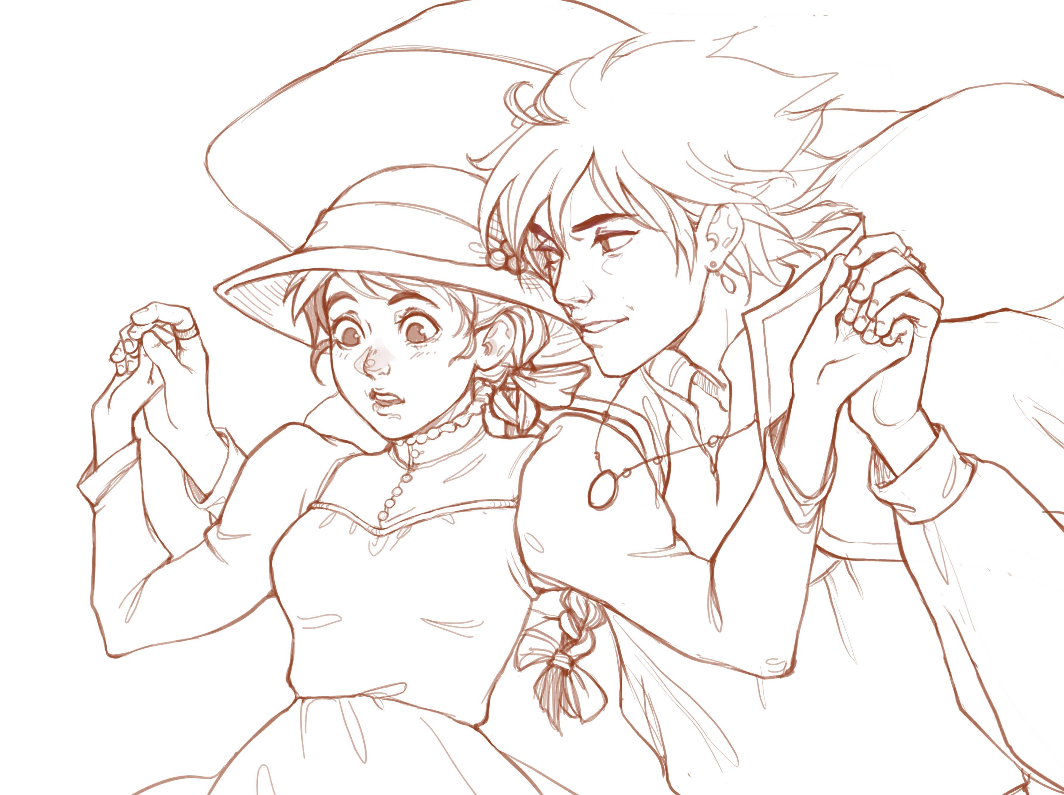 lineart/final sketch