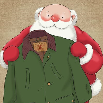 Raymond Briggs- Illustrations for Barbour campaign