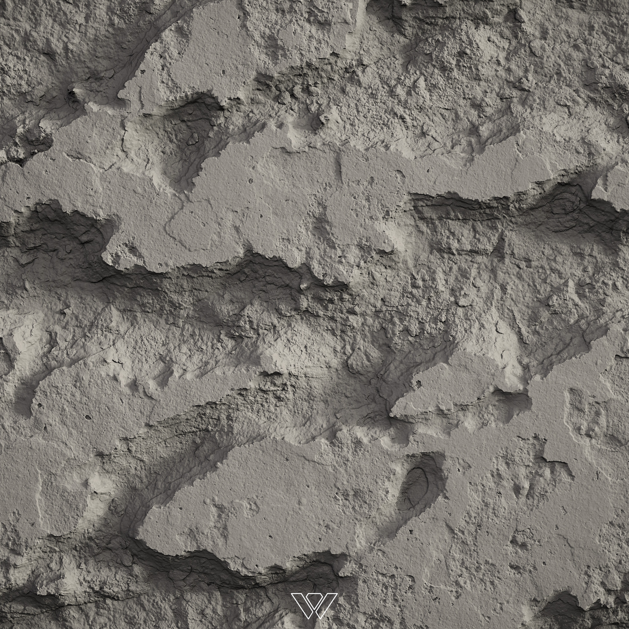I developed a robust set of Substance Designer generators to handle various concrete/rebar damage and their colorization.