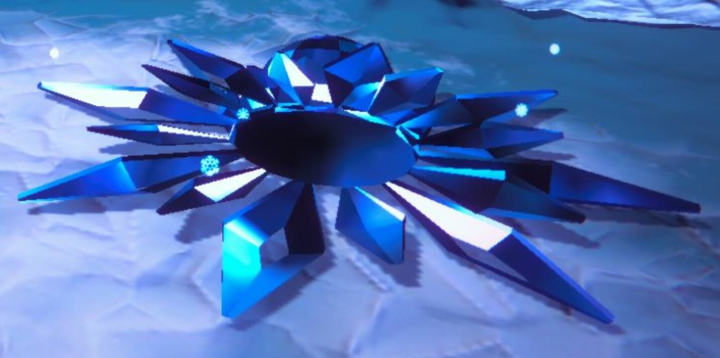 Ice Flower In Game