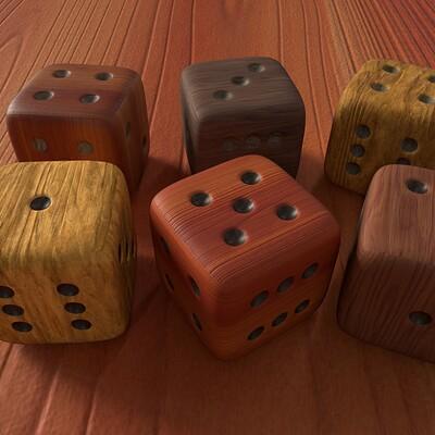 Angelo logahd wood dices