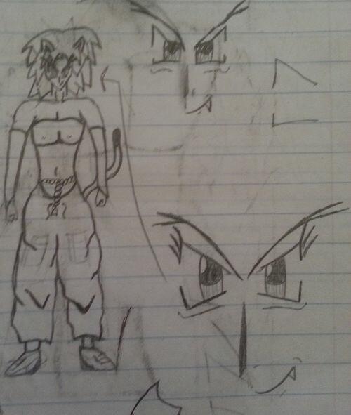 Old sketch of Luka