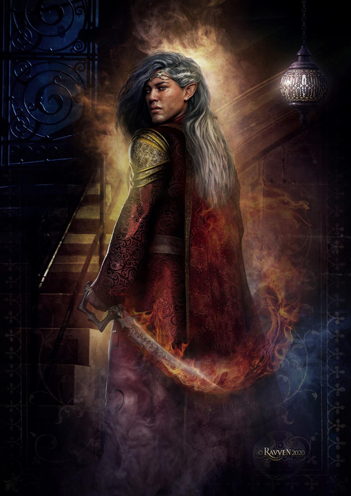 Elvish Prince by Ravven