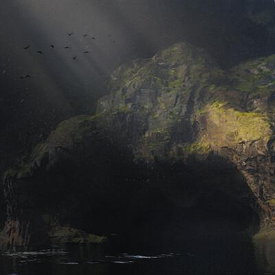 Roberto tula cave render