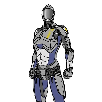 Nathaniel hill newdawn soldierbot