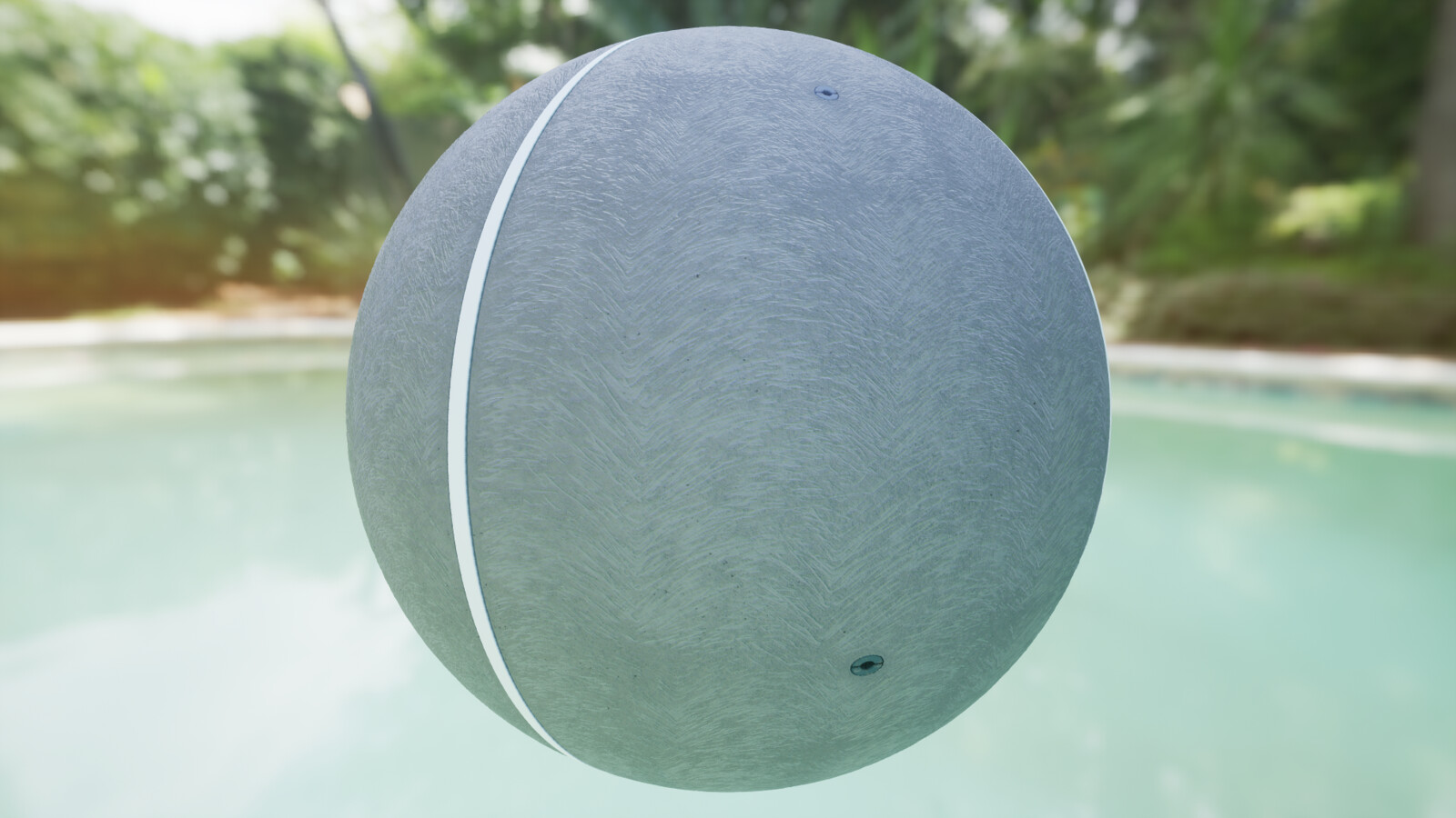 4K material applied in UE4 on a simple sphere and cylinder mesh. Lit with a simple lighting setup and an HDRI.